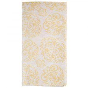 Gold Elite Linen Feel Guest Towels / Napkins 100ct